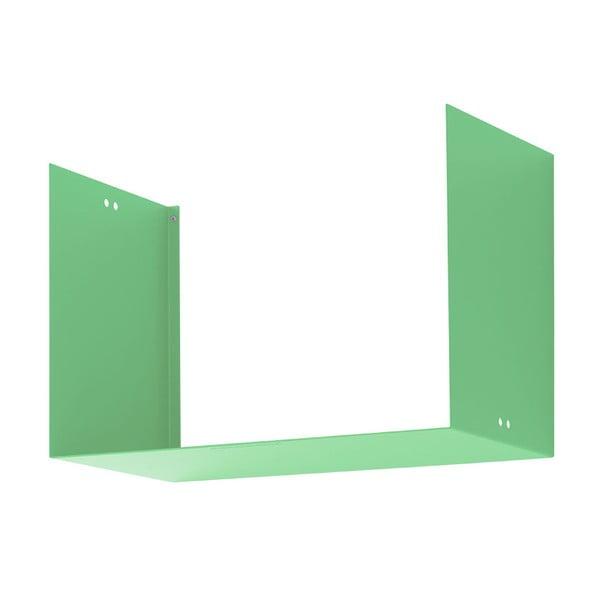 Półka Geometric Two, zielona