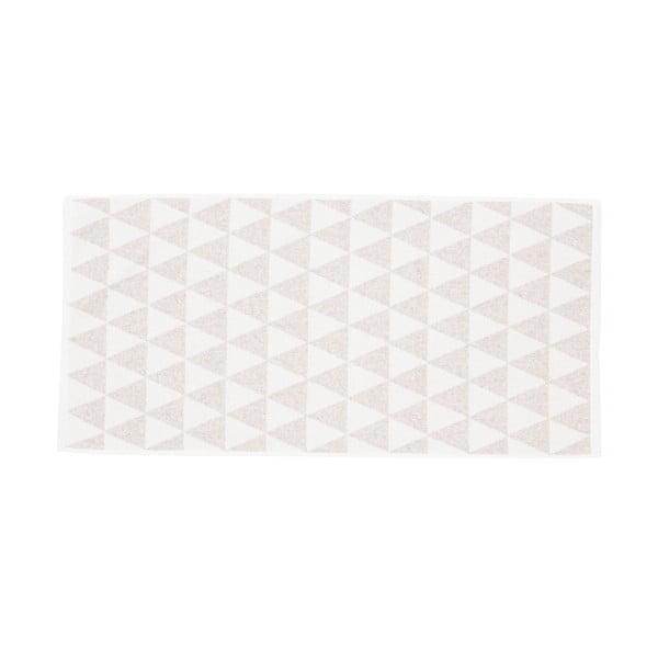 Komplet 2 beżowo-białych ręczników Casa Di Bassi Simon, 50 x 100 cm