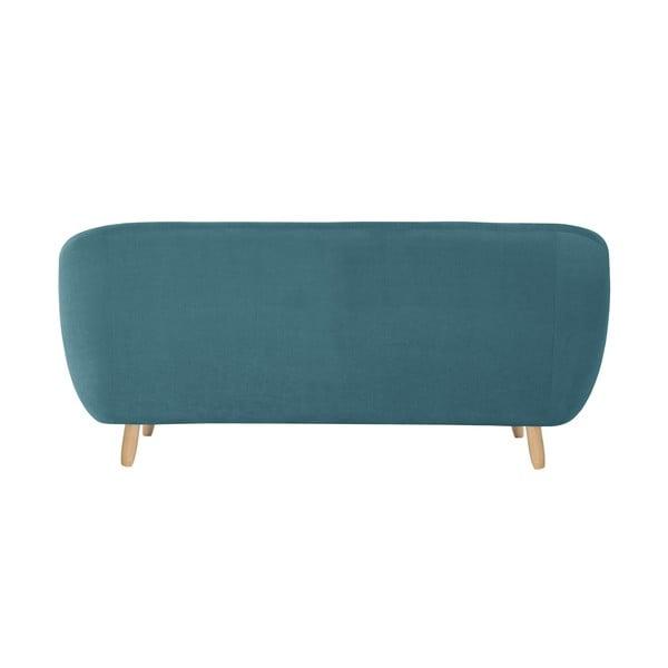 Turkusowa sofa trzyosobowa Jalouse Maison Vicky