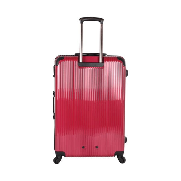 Walizka Azzaro Trolley Red, 107 l