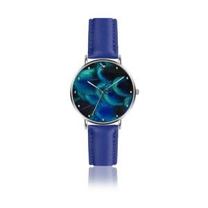 Zegarek damski z niebieskim paskiem z prawdziwej skóry Emily Westwood