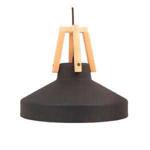 Czarna lampa wisząca Loft You Work, 33 cm