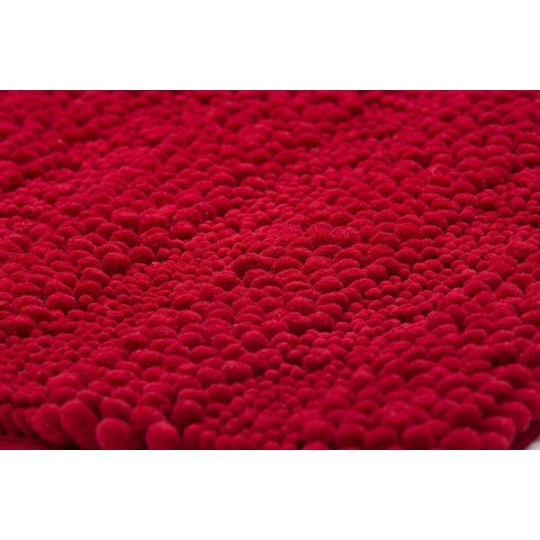 Zestaw 2 dywaników łazienkowych z wcięciem Surface Bordeaux