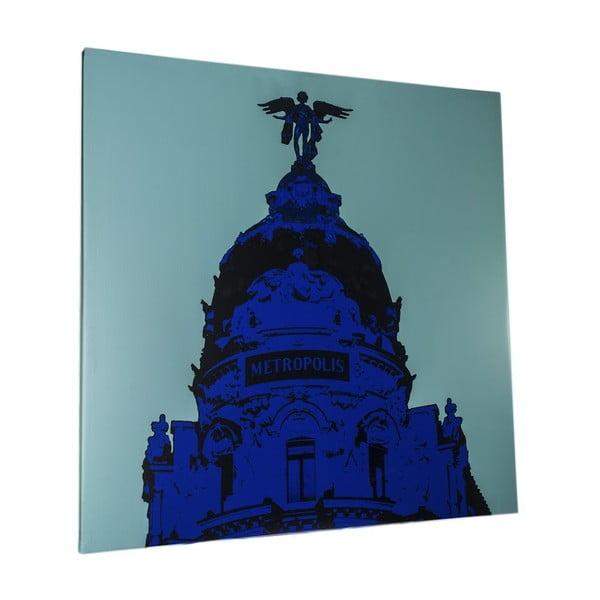 Obraz Madrid, 100x100 cm