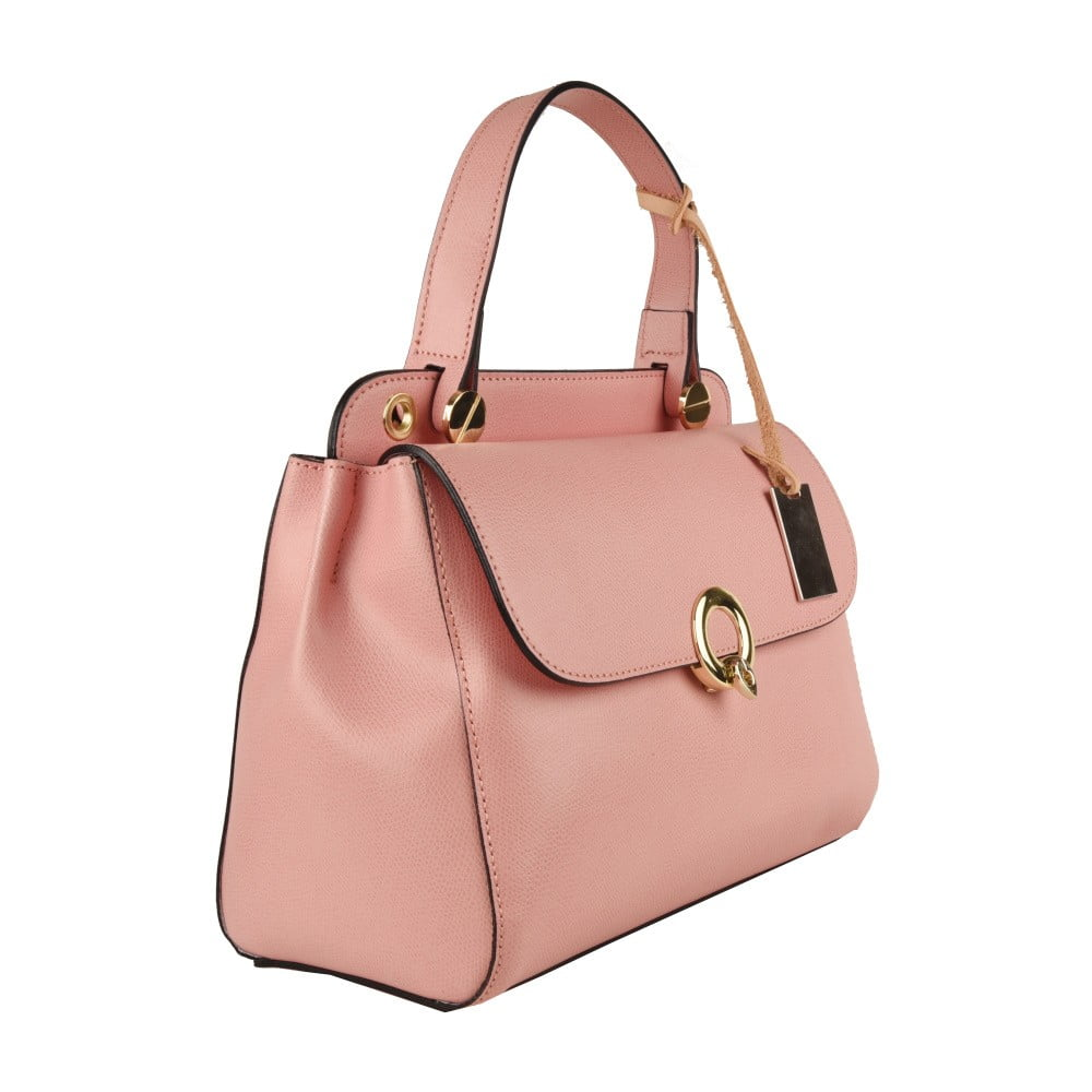 12ac6eb54d576 Różowa torebka skórzana Matilde Costa New York | Bonami