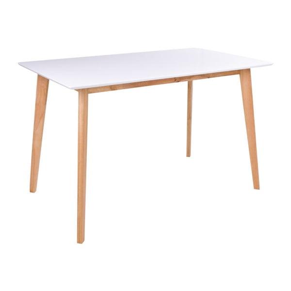 Stół z białym blatem loomi.design Vojens