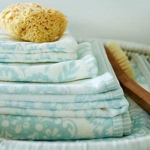 Ręcznik Pip Studio Lacy Dutch, 55x100 cm, niebieski