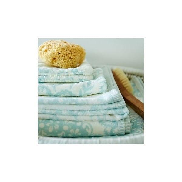 Ręcznik Pip Studio Lacy Dutch, 70x140 cm, niebieski
