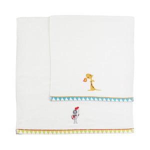Zestaw 2 ręczników Knight, 50x100 cm i 70x140 cm