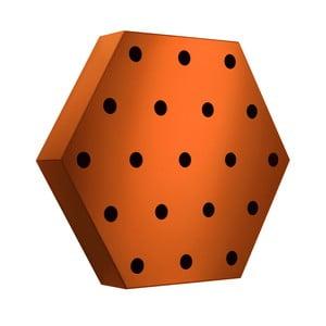 Stojak na wino Hexagon Maxi, pomarańczowy