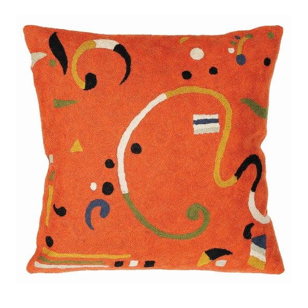 Poszewka na poduszkę Orange Ribbon, 45x45 cm