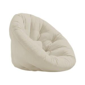 Fotel rozkładany Karup Design Nest Beige