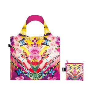 Torba na zakupy LOQI Flower Dream