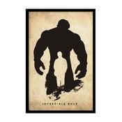 Plakat Incredible Hulk, 35x30 cm