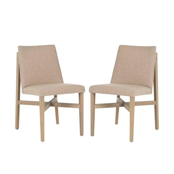 Zestaw 2 krzeseł Safavieh Laurent