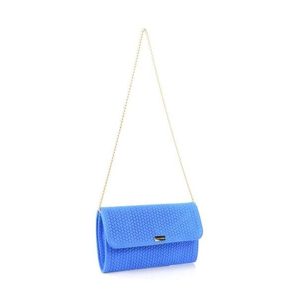Skórzana torebka Yaelle, niebieska