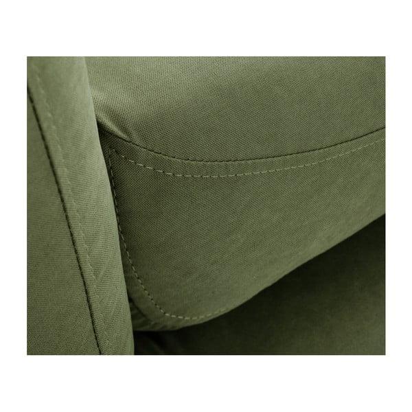 Zielona sofa 3-osobowa Scandi by Stella Cadente Maison Constellation