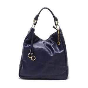 Skórzana torebka Carla Ferreri 2087 Blu