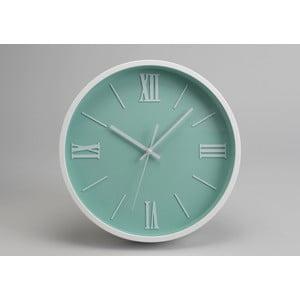 Zegar Modern Blue Green, 36 cm