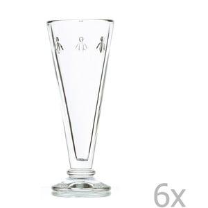 Zestaw 6 szklanek Abeille, 150 ml