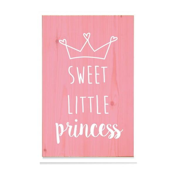 Drewniana tabliczka Sweet Little Princess