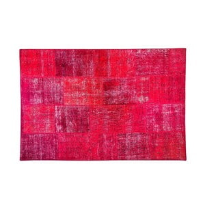Dywan wełniany Allmode Red, 150x80 cm