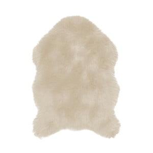 Béžová umělá kožešina Tiseco Home Studio Sheepskin, 60 x 90 cm