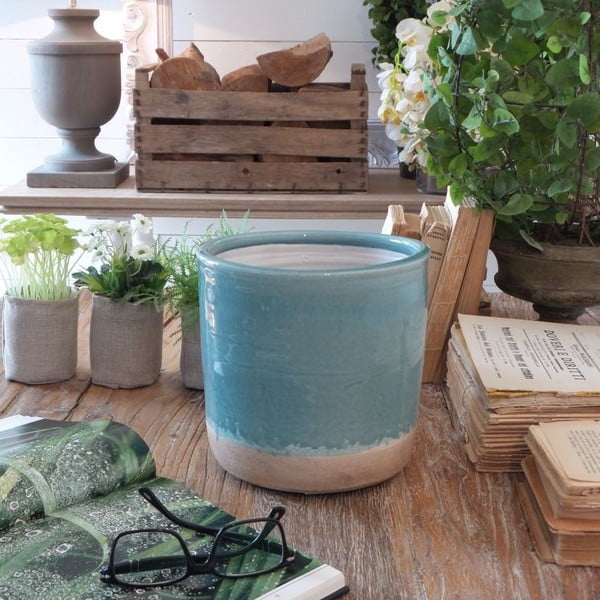 Doniczka Turquoise Raw