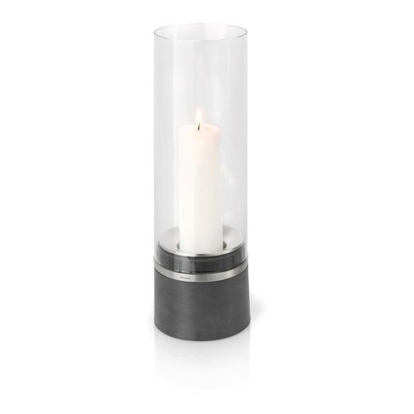Świecznik ze świeczką Blomus Piedra, 47 cm