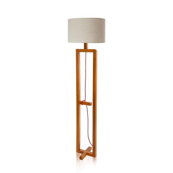 Lampa stojąca Dal White Walnut