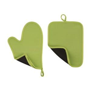 Zielona rękawica i łapka kuchenna Premier Housewares