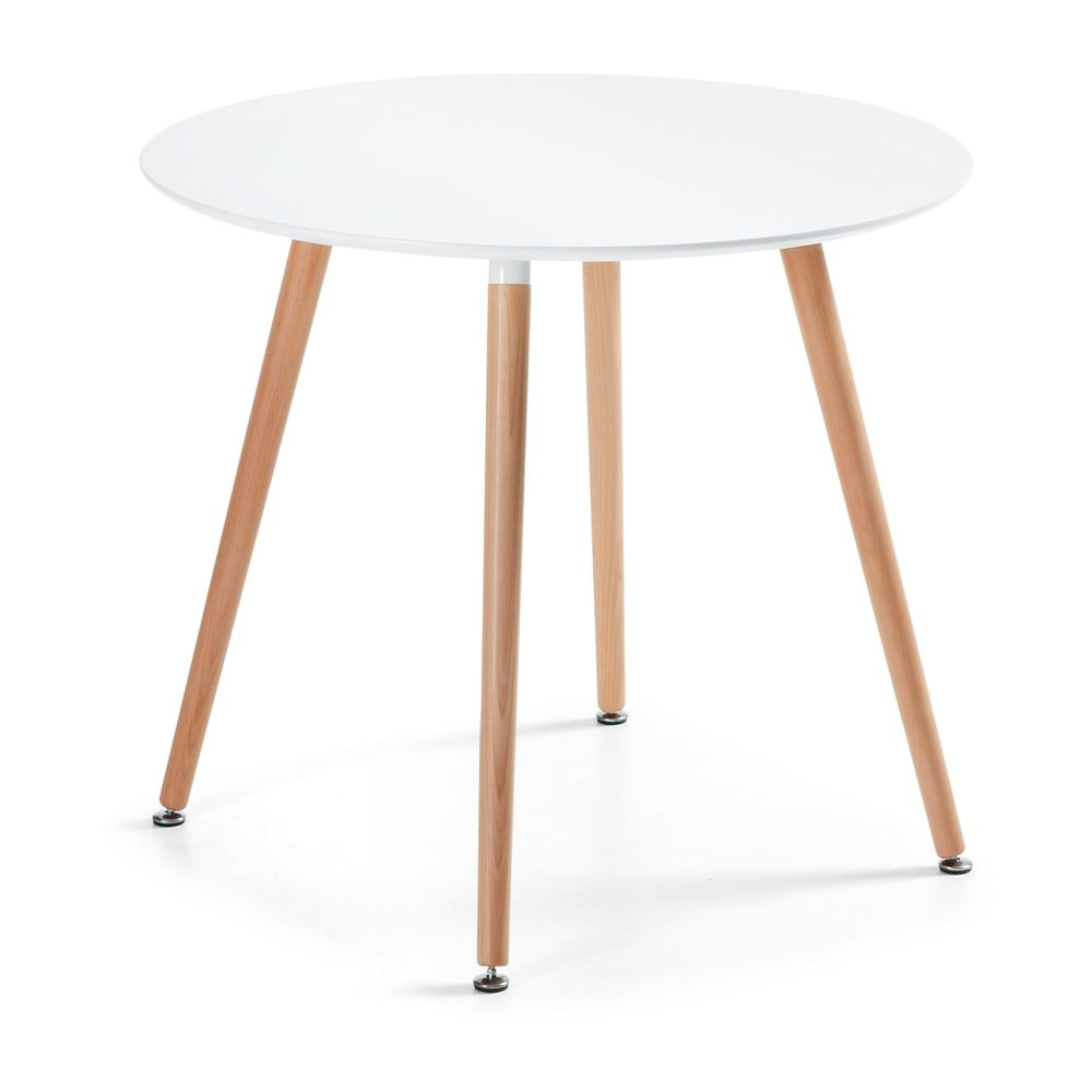 Stół do jadalni z drewna bukowego La Forma Daw, ⌀ 100cm
