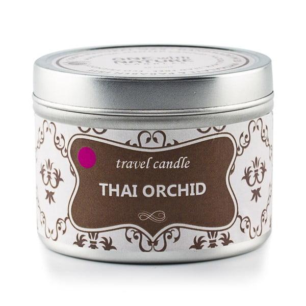 Świeczka zapachowa w puszce Thai Orchid