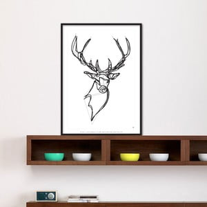 Plakat Royal Stag Deer