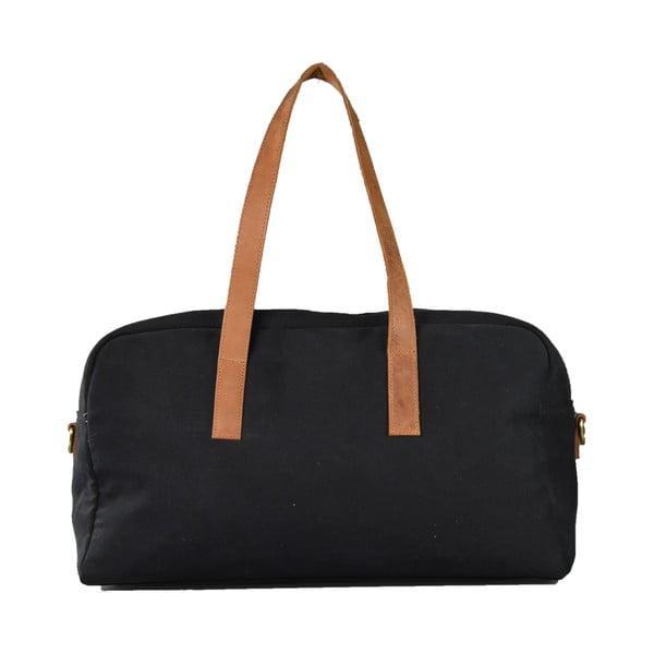 Czarna torebka skórzana O My Bag The Weekender