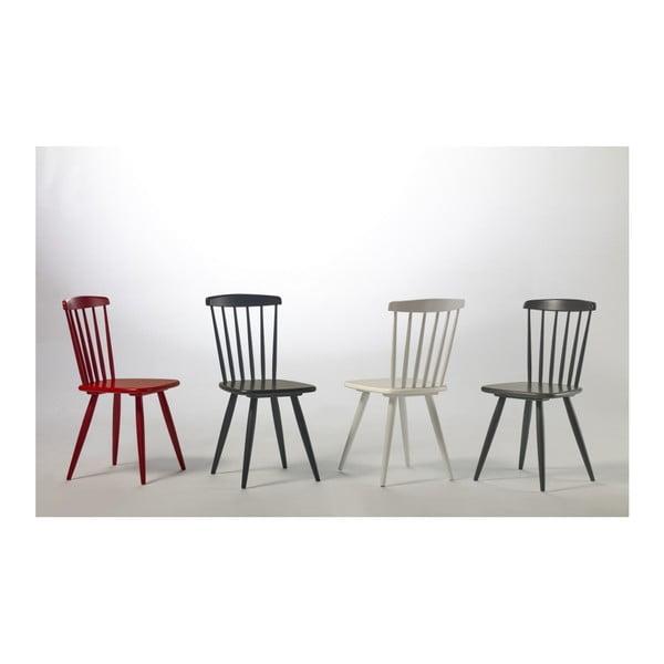 Zestaw 2 białych krzeseł do jadalni Marckeric Jade