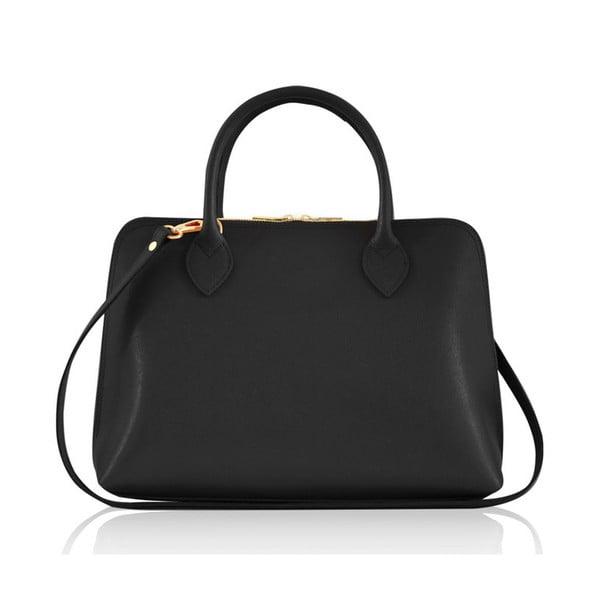 Skórzana torebka Penny, czarna