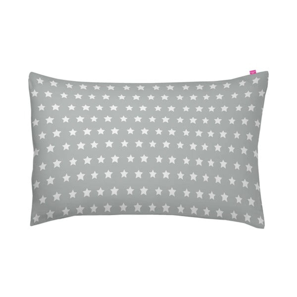Poszewka na poduszkę Stars Gris, 70x90 cm