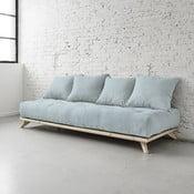 Sofa Senza Natural/Sky Blue
