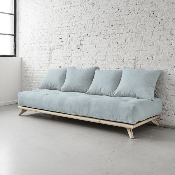 Sofa Senza Natural/Sky Blue