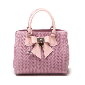 Skórzana torebka Luisa Vanini 872 Rosa