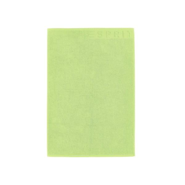 Dywanik łazienkowy Esprit Solid 60x90 cm, limetkowy