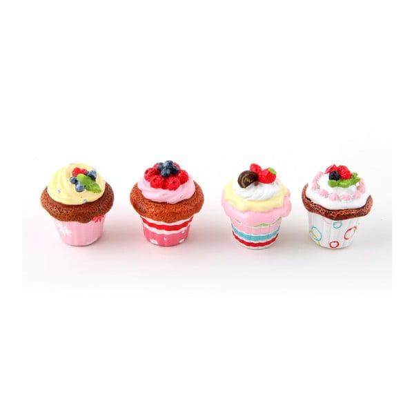 Zestaw 4 magnesów Słodkości