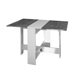 Szaro-biały rozkładany stół 13CasaTrick