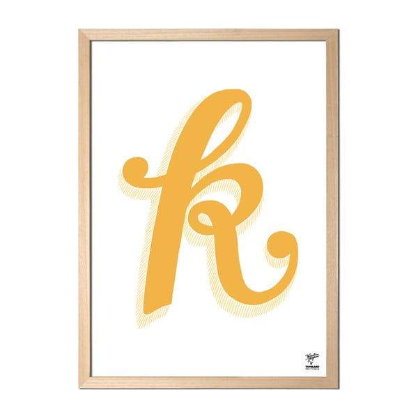 Plakat K designed by Karolina Stryková