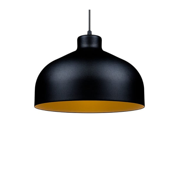 Czarno-złota lampa wisząca Loft You B&B, 22 cm