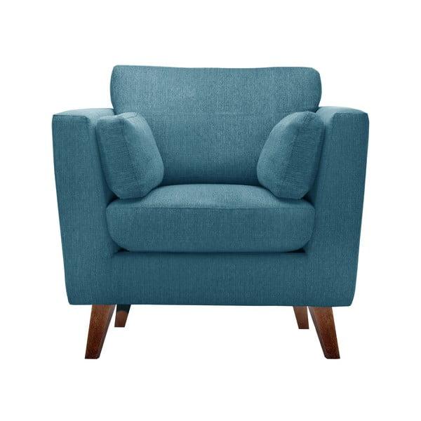 Turkusowy fotel Jalouse Maison Elisa