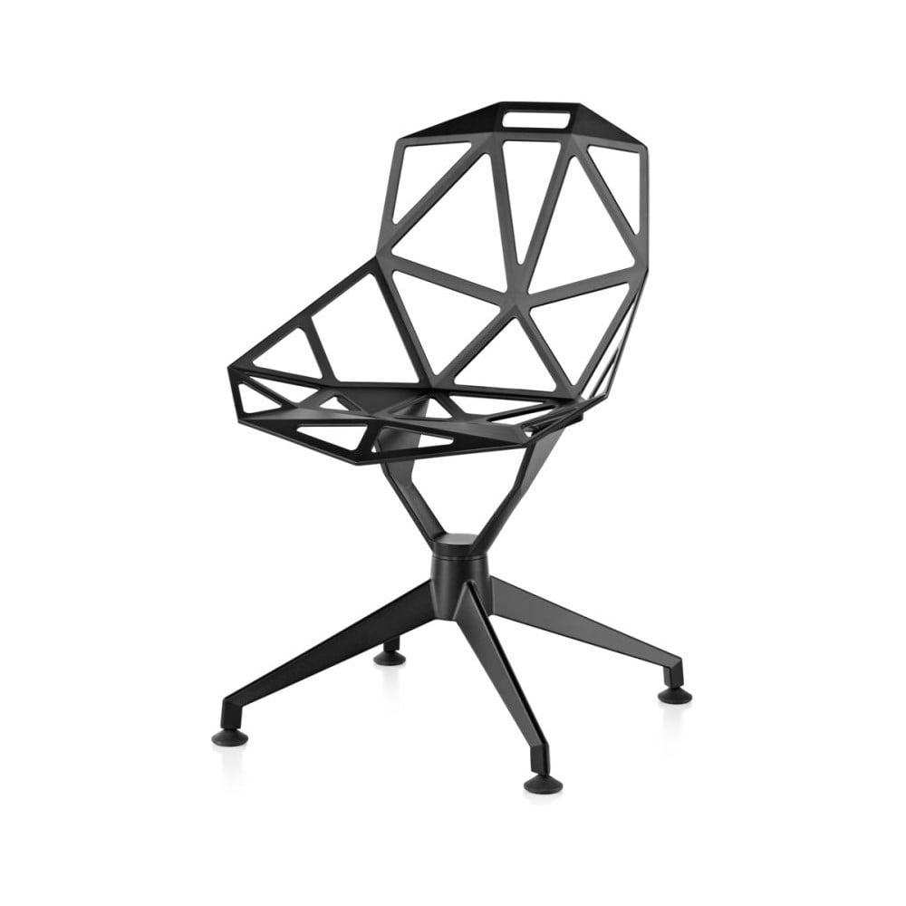 Czarne krzesło Magis One 4star