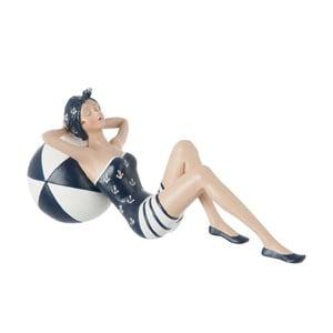 Dekoracja Lying Woman in Swimsuit