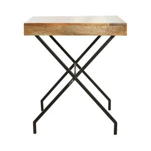Stół z blatem z drewna mangowego House Doctor Brooklyn